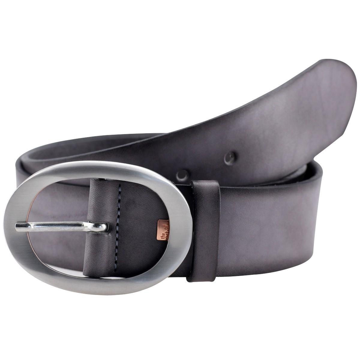 lederg rtel damen g rtel damen the art of belt grau 40088. Black Bedroom Furniture Sets. Home Design Ideas